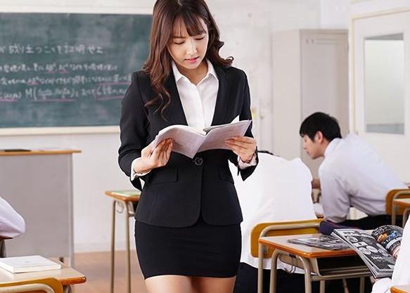 【三上悠亜】国民的アイドルが巨乳教師になって学校へ赴任!発情した鬼畜生徒たちが群がり凌辱レイプされる!