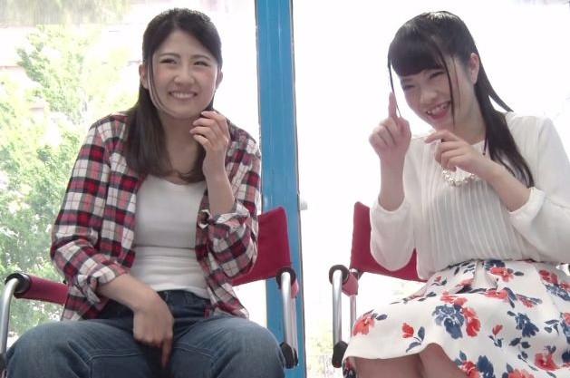 《素人企画》美女2人が友達同士でオナニー見せ合い!羞恥心にまみれながらもクリを弄り始めるドスケベ娘!