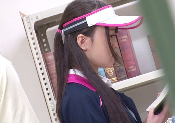 部活帰りの美少女に襲い掛かる痴漢魔!図書館で声我慢を強要されながら問答無用で犯される!