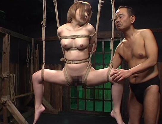 ★麻里梨夏★ショートヘアのお姉さんを緊縛拘束して鞭打ち!ガチSMの性拷問で悶絶ハード調教!