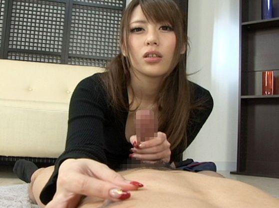 ★桜井あゆ★ドスケベお姉さんがM男をねっとり手コキ責めww射精チンポに追撃して男の潮吹きさせる