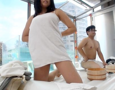 《MM》仲良し大学生男女が初めての混浴体験wwそのまま友達同士でガチSEXしちゃうのかモニタリング