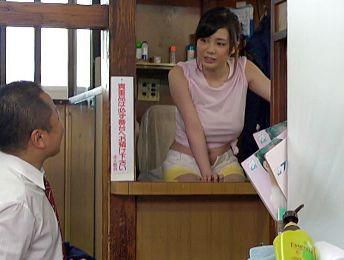 お風呂屋さんの看板娘はエロ爆乳お姉さん♡常連客の背中を流して勃起チンポをパイズリするドスケベサービスw