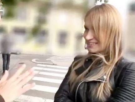 ウクライナの金髪巨乳お姉さんをMM号ナンパ!日本式性感マッサージでトロトロ発情させて即ハメ挿入したらそのまま無許可で中出し