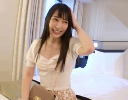 アイドル顔負けの22歳お姉さんをレンタル彼女♡禁止のはずの本番行為OKでさっそくホテルに連れ込み即ハメ全力ピストン